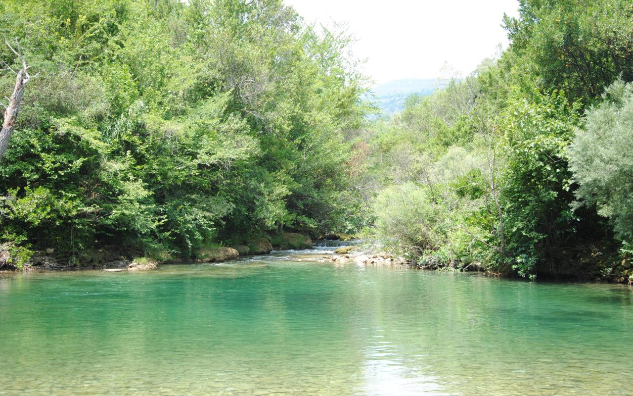 Seen und Flüsse
